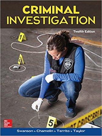 criminal investigation 12 e rh fire police ems com Criminal Investigation Checklist Criminal Investigation Book