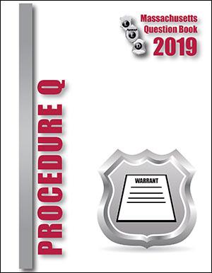 Massachusetts Criminal Procedure Question Book 2019