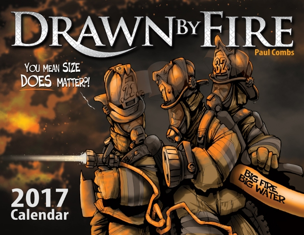 Drawn By Fire 2017 Calendar