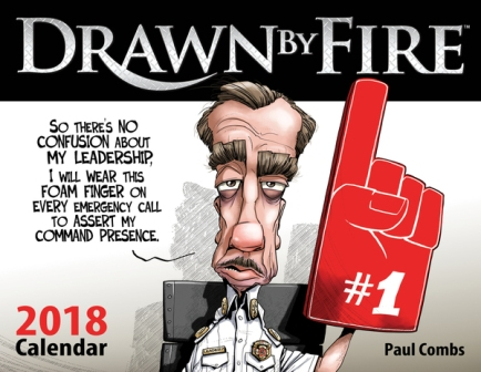 Drawn By Fire Calendar 2018