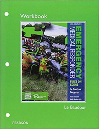 Emergency Medical Resppnder Workbook