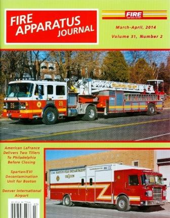 Fire Apparatus Journal, March / April 2014