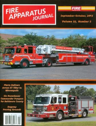 Fire Apparatus Journal Sept-Oct 2015