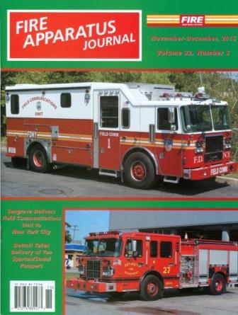 Fire Apparatus Journal Nov - Dec 2015