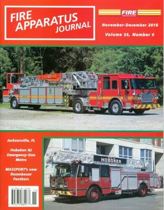 Fire Apparatus Journal, November - December 2016