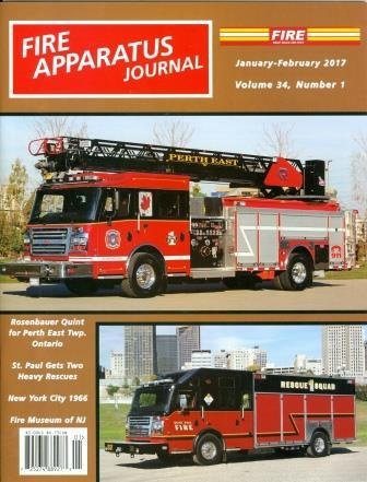 Fire Apparatus Journal January February 2017