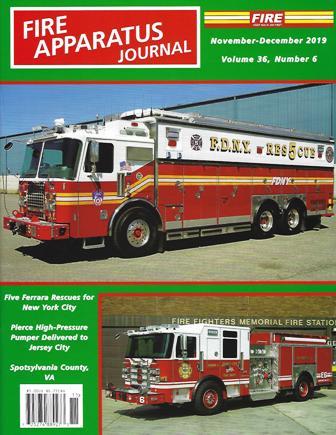 Fire Apparatus Journal, November - December 2019