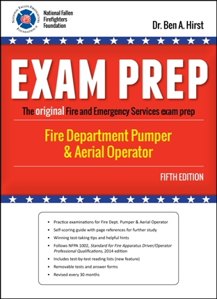 Fire Department Pumper and Aerial Operator Exam Prep, 5th edition