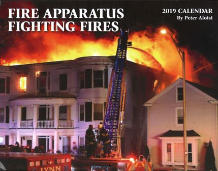 Fire Apparatus Fighting Fires 2019
