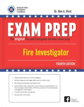 Exam Prep Fire Investigator, Fourth Edition