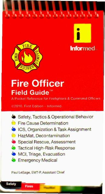 Fire Officer Field Guide 1 E