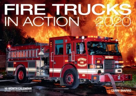 Fire Trucks in Action 2020 Calendar