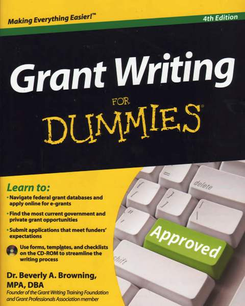grant writing certification Students in this program will augment their writing and editing skills, learn  strategies for composing professional grant proposals, and earn professional.