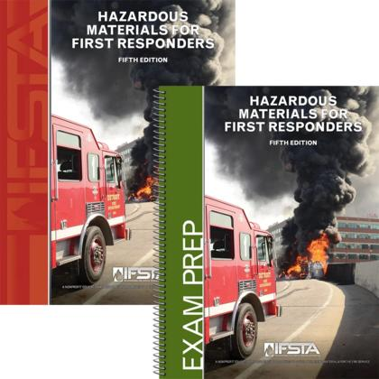 Hazardous Materials for First Responders 5th Edition Manual and Printed Exam Prep