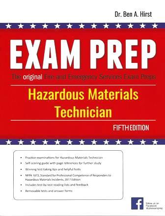Hazardous Materials Technician Exam Prep