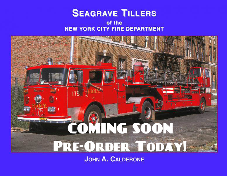 Seagrave Tillers of the NYC Fire Department