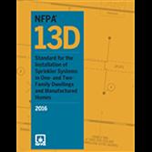 NFPA13D 2016