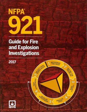 NFPA 921 2017 edition
