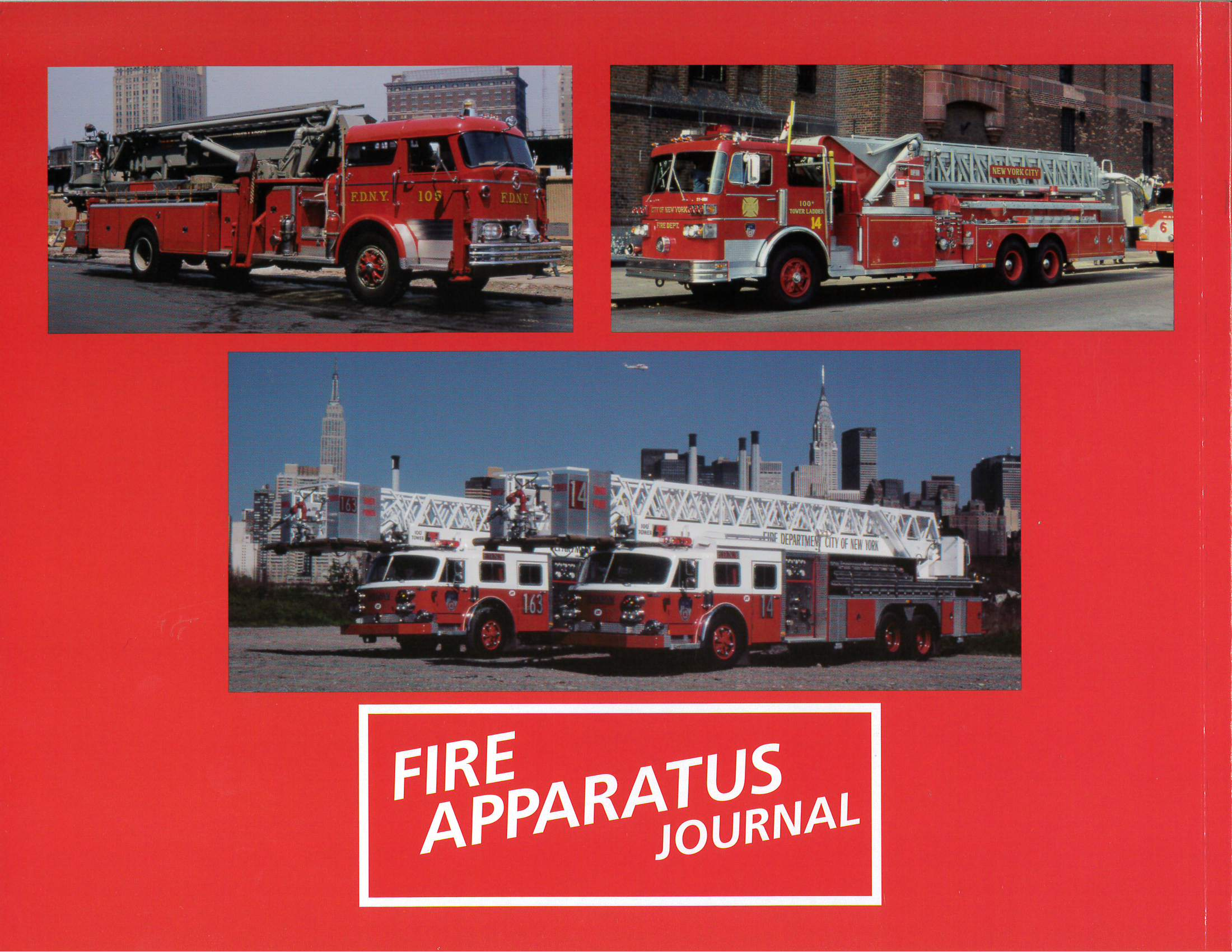 Tower-Ladders of NYC FD back cover