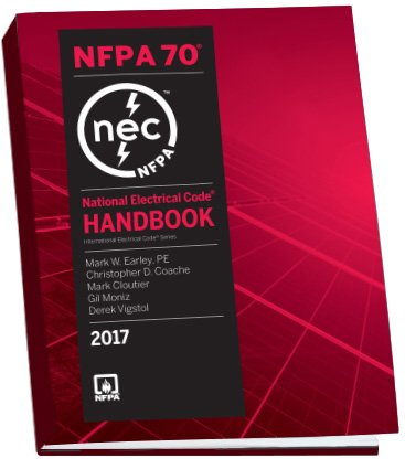 Nfpa 70 National Electrical Code Nec Handbook 2017 Edition