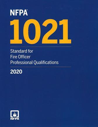 NFPA 1021 2020