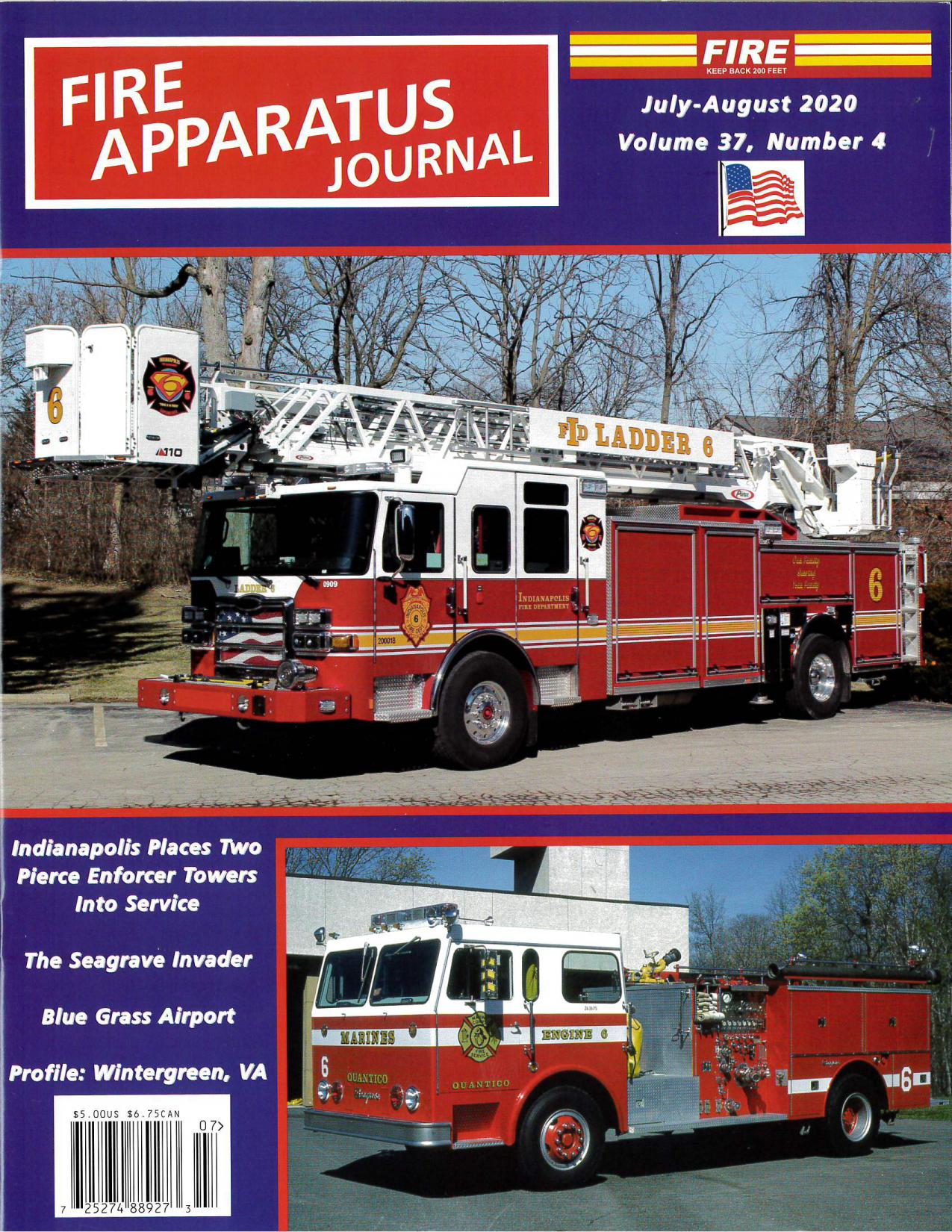 Fire Apparatus Journal, July-Aug 2020