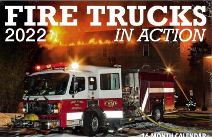 Fire Trucks in Action 2022 Calendar