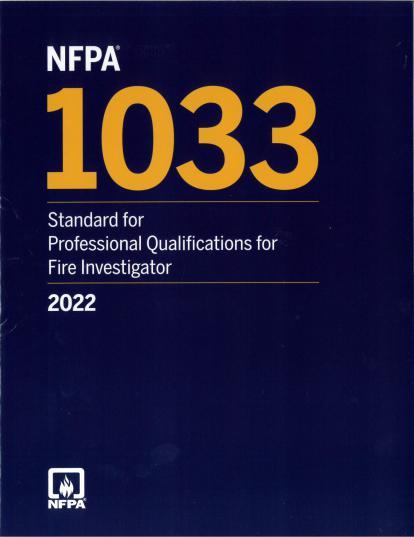 NFPA 1033 2022