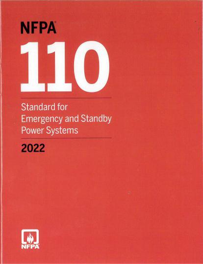 NFPA110-2022