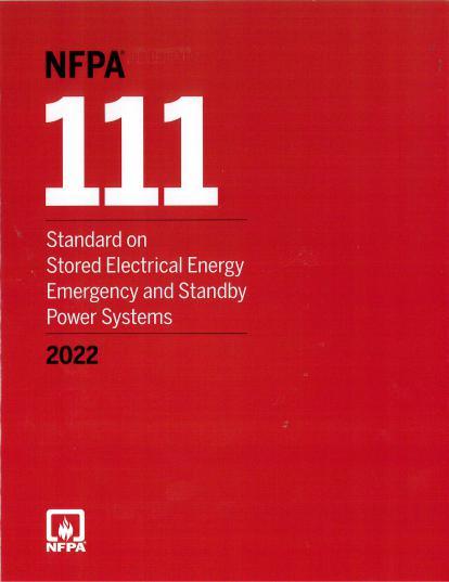 NFPA111-2022