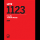 NFPA1123-2018