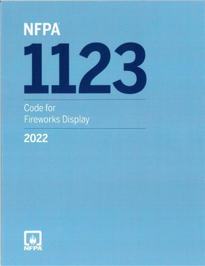 NFPA1123-2022