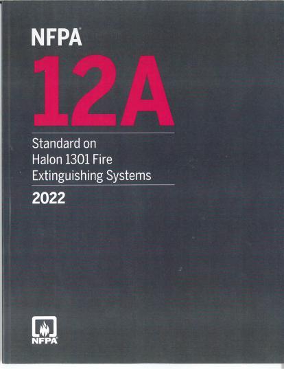 NFPA 12A 2022