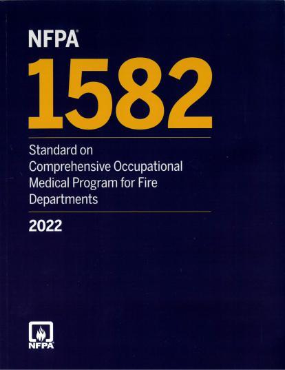 NFPA 1582 2022