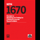NFPA1670-2017