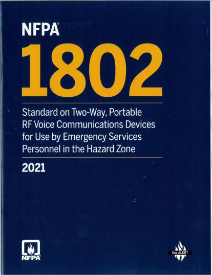 NFPA 1802 2021
