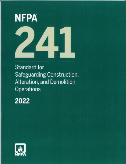 NFPA 241 2022