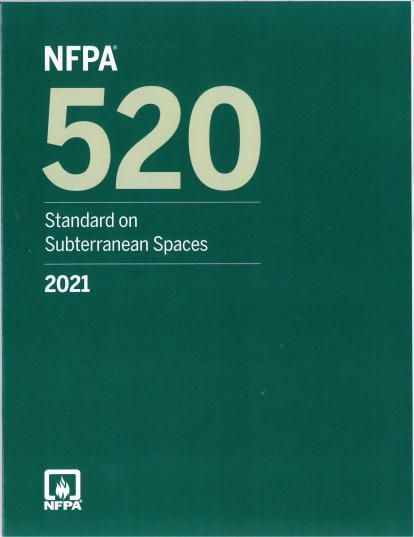 NFPA 520 2021