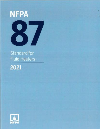NFPA 87 2021