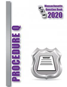 2020 Procedure Questions