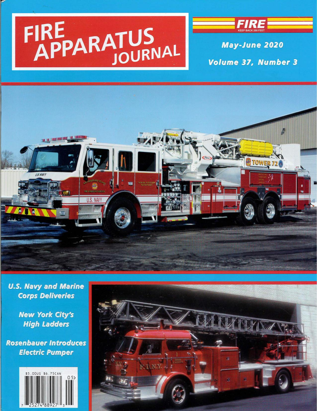 Fire Apparatus Journal, May - June 2020