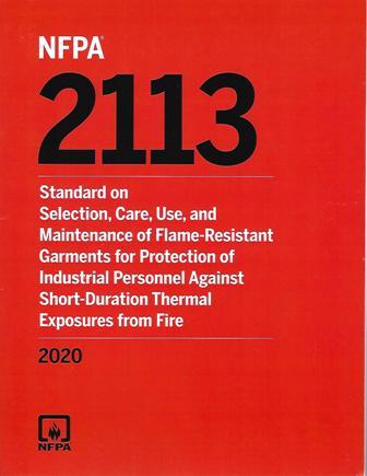 NFPA 2113 2020
