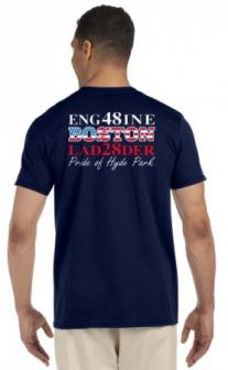 Boston Fire Engine 48 Tee