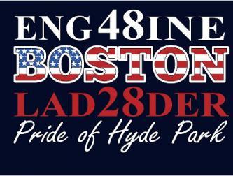 Boston Fire Engine 48 Back Writing