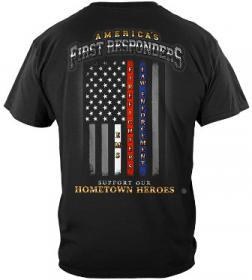 Flag of Honor First Responder Tee Back