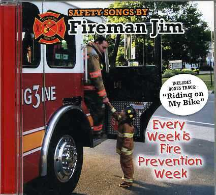 Every Week Is Fire Prevention Week CD