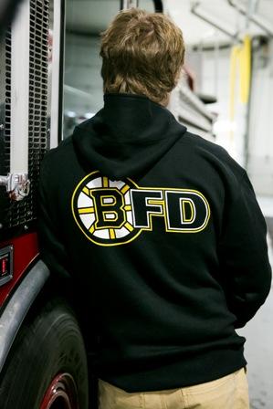 Boston Fire Hockey Hoodie