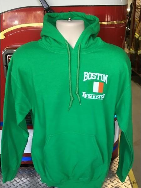 Boston Fire Green Hoodie