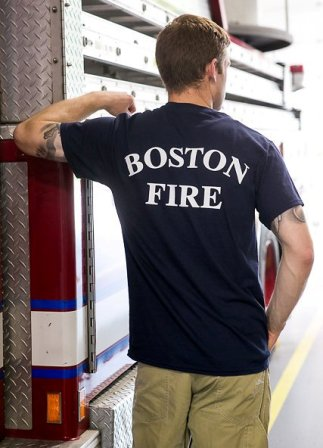 Boston Fire Department Station Shirt
