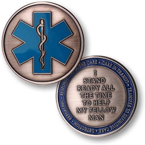 Emergency Medical Services Coin